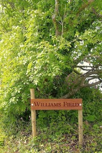 Williams field sign
